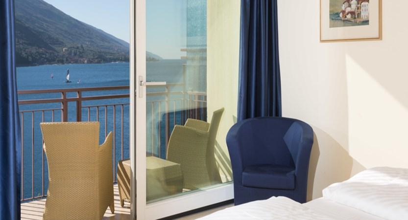 Maximilian Hotel, Malcesine, Lake Garda, Italy - bedroom.jpg