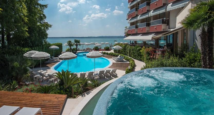 Continental Hotel, Sirmione, Lake Garda, Italy - Outdoor pools.jpg