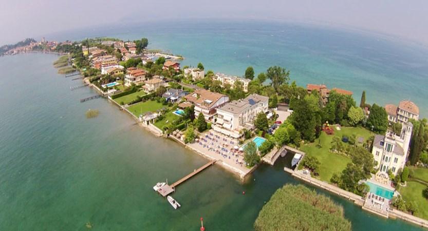 Du Lac Hotel, Sirmione, Lake Garda, Italy - Aerial view.jpg