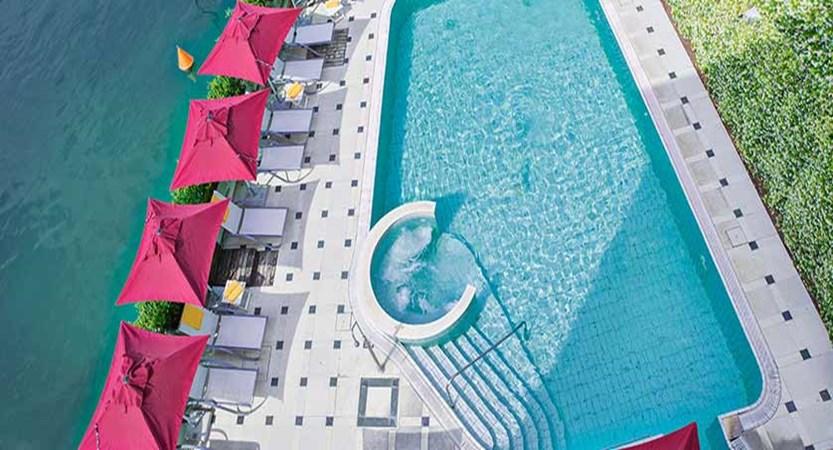 Hotel Sirmione, Sirmione, Lake Garda, Italy - Outdoor pool aerial view.jpg