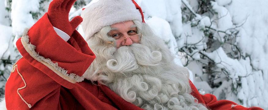 Visit Santa in Lapland image