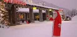 Levi Hotel Spa (Levitunturi), exterior with Santa.jpg