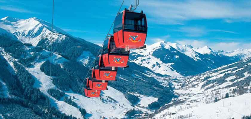 Saalbach ski lift