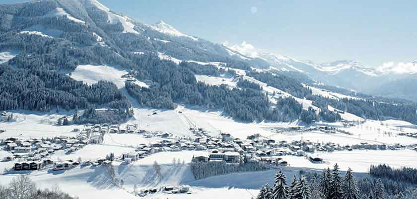 Ski Welt ski area resort view