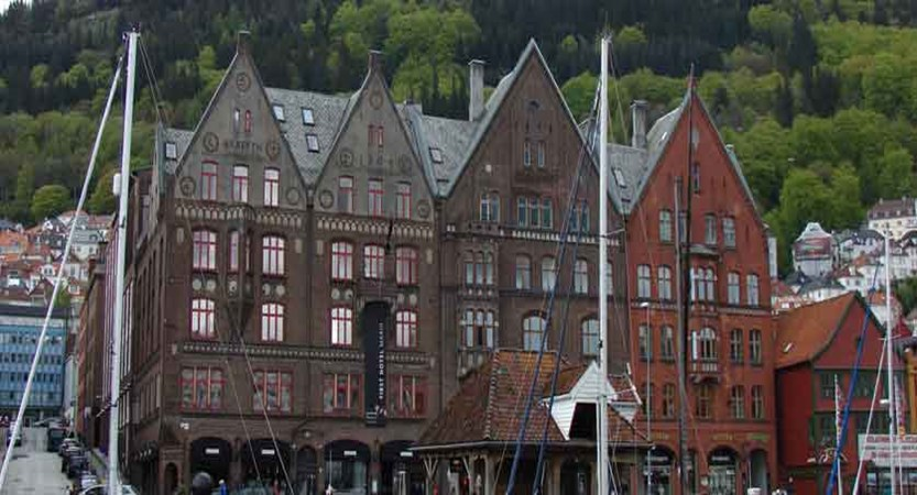 First Hotel Marin, Bergen, Norway -  building on the left.jpg