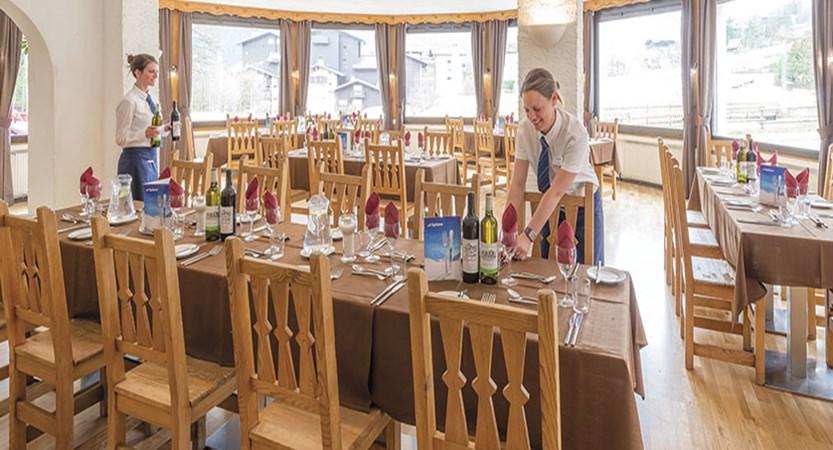 Chalet Hotel Sapinière, Chamonix, France - dining room.jpg
