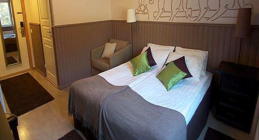 Crazy Reindeer Hotel in Finland, Lapland, Levi standard double bedroom with steam shower