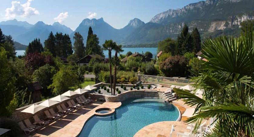 Hotel Les Grillons, Talloires, Lake Annecy, France - Outdoor pool.jpg