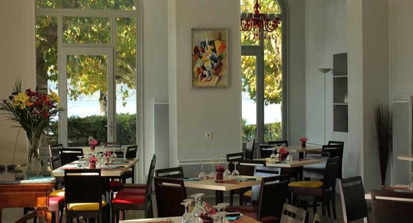 Hotel Pavillon des Fleurs, Talloires, Lake Annecy, France - dining room.jpg