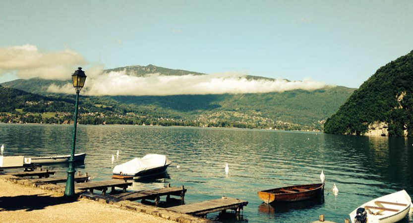Boats view, Talloires, , Lake Annecy, France.jpg