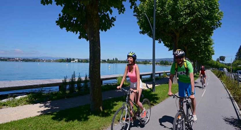 Cycling, Lake Annecy, France.jpg