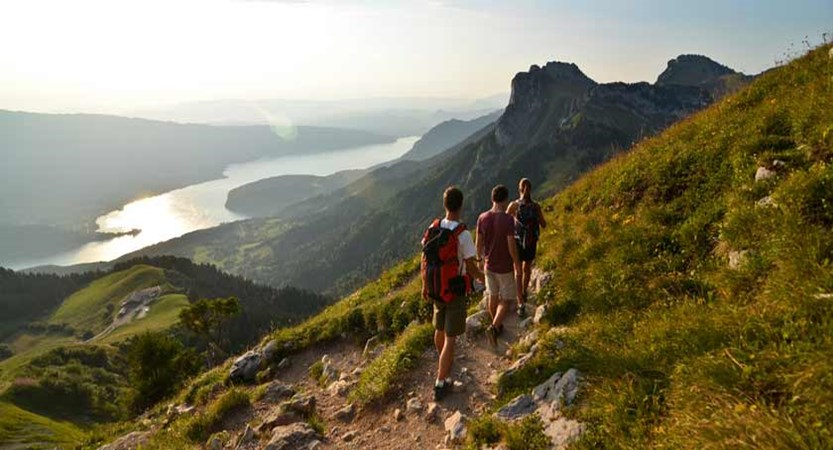 Hiking trails, Lake Annecy, France.jpg