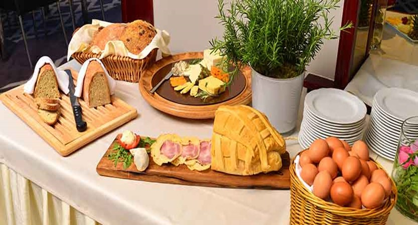 Hotel Kompas, Lake Bled, Slovenia - An example of the breakfast buffet 4.jpg