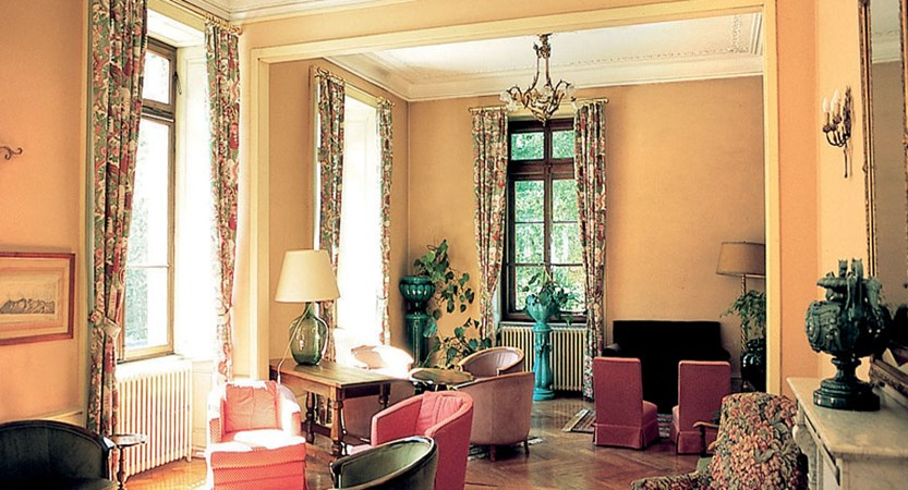 Hotel richemond lounge area