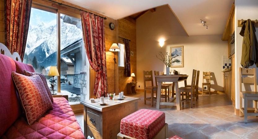 Hameau de la Pierre Blanche - studio apartment interior