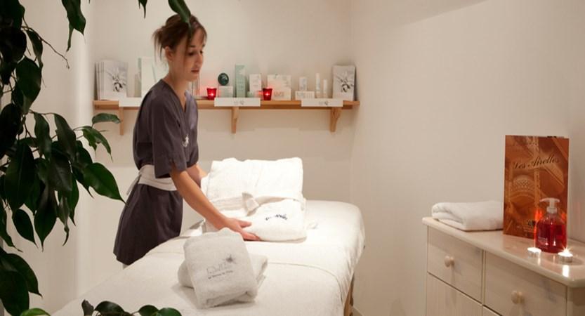 Hotel Les Airelles Massage room