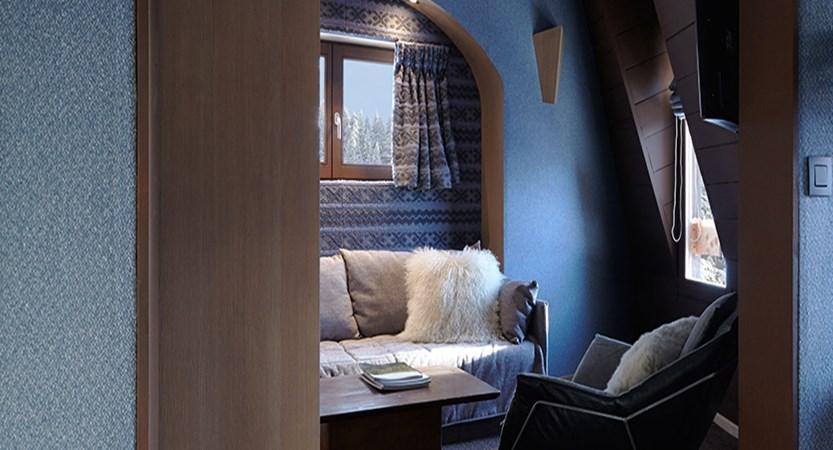 Hotel des Dromonts - living area