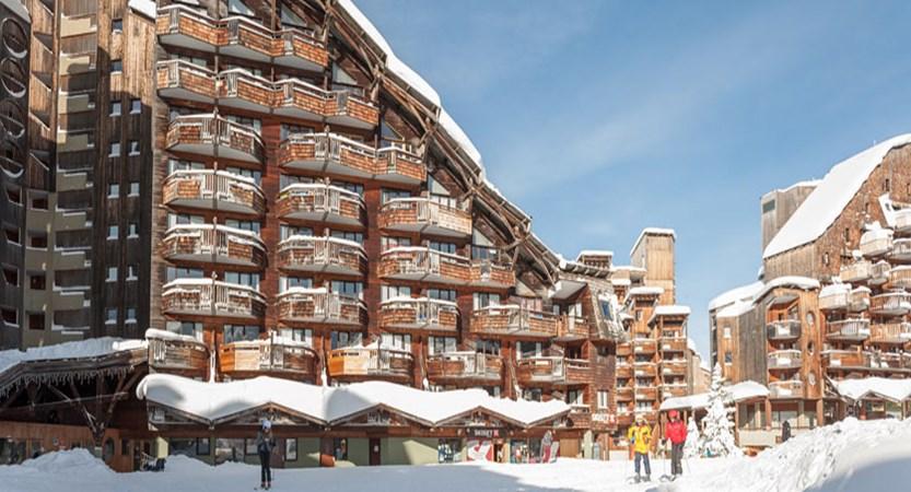 Le Saskia apartments exterior 4