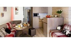Les Crozats Apartments, Living area