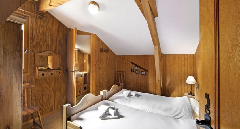 Chalet Perce Neige bedroom