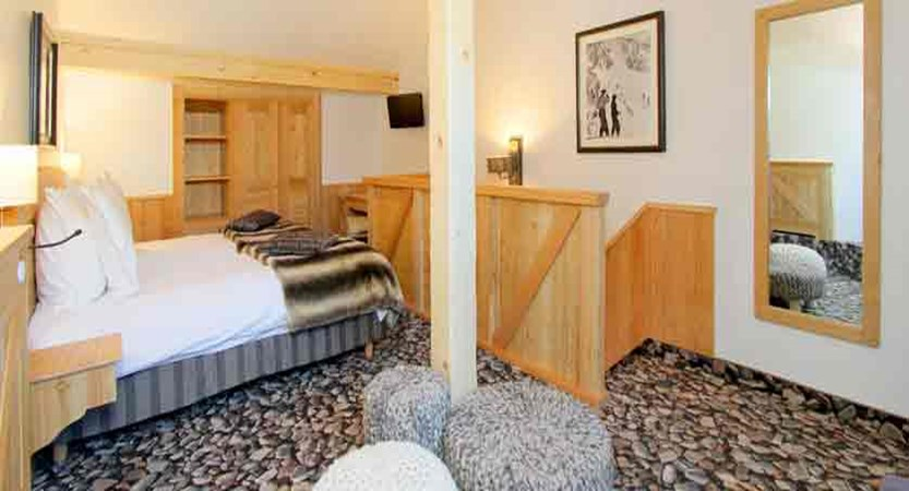 Hotel Chalet Mounier bedroom