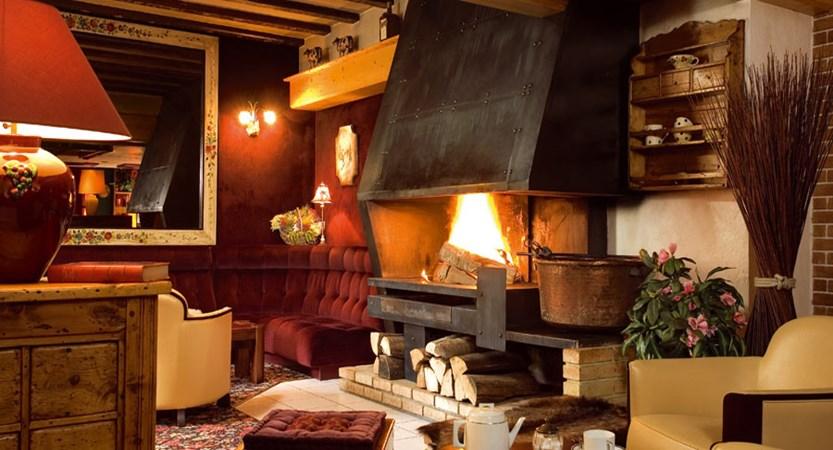Hotel Les Melezes lounge