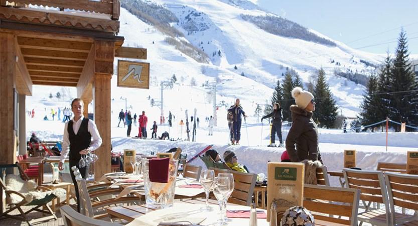 Hotel Les Melezes terrace
