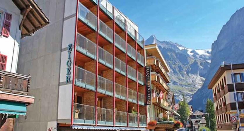 Eiger Self-Catering Apartments, Grindelwald, Bernese Oberland, Switzerland - Exterior.jpg