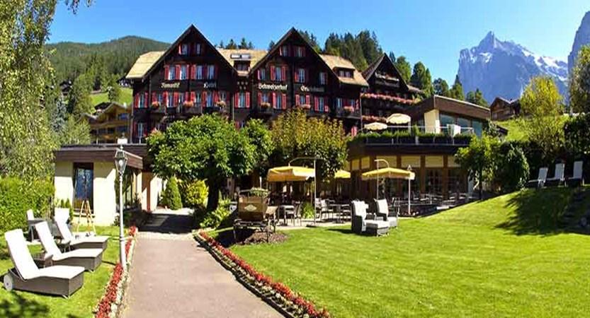Romantik Hotel Schweizerhof, Grindelwald, Bernese Oberland, Switzerland - Exterior summer.jpg