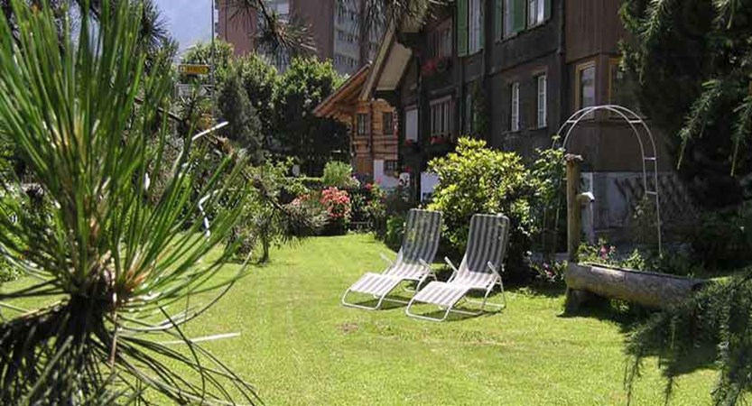 Hotel Alpina, Interlaken, Bernese Oberland, Switzerland - Garden.jpg