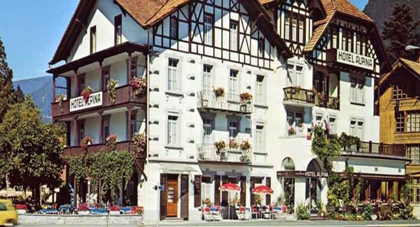 Hotel Alpina, Interlaken, Bernese Oberland, Switzerland - hotel exteriors.jpg