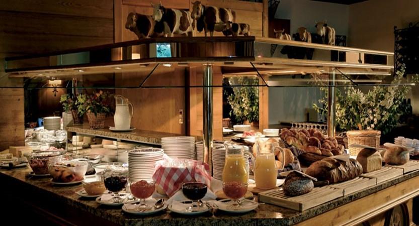 Hotel Alpenrose, Wengen, Bernese Oberland, Switzerland - breakfast buffet.jpg