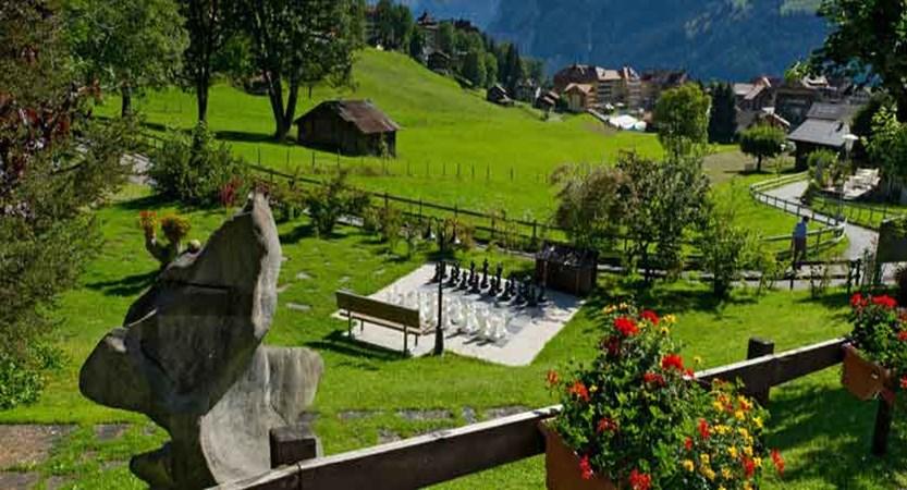 Beausite Park & Jungfrau Spa, Wengen, Bernese Oberland, Switzerland - gardens.jpg