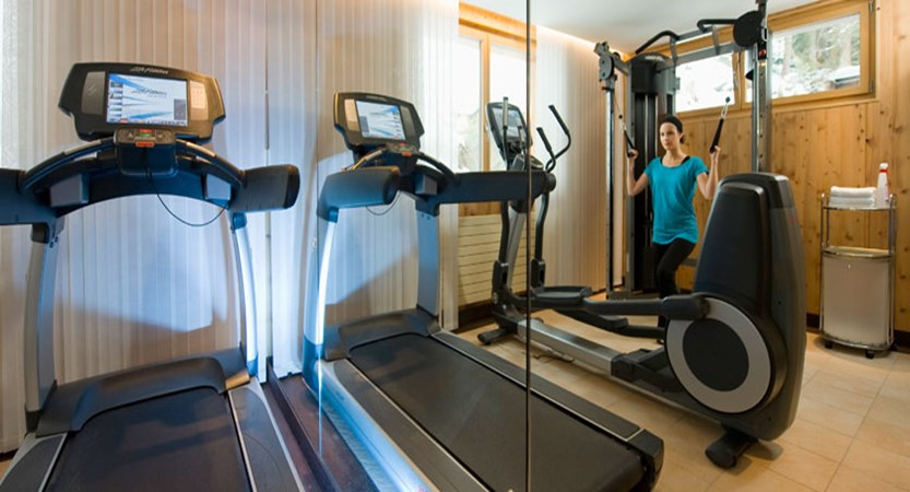 Beausite Park & Jungfrau Spa, Wengen, Bernese Oberland, Switzerland - gym.jpg