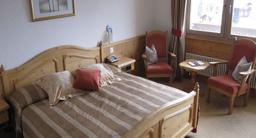 Hotel Caprice, Wengen, Bernese Oberland, Switzerland - double bedroom.jpg