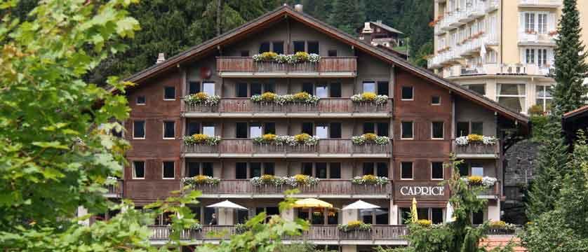 Hotel Caprice, Wengen, Bernese Oberland, Switzerland - Exterior.jpg