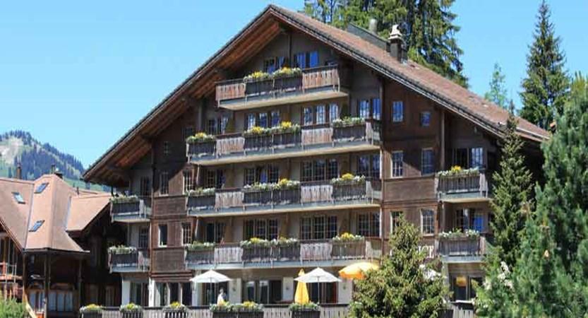 Hotel Caprice, Wengen, Bernese Oberland, Switzerland - hotel exterior.jpg