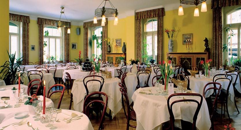 Hotel Falken, Wengen, Bernese Oberland, Switzerland - dining room interior.jpg