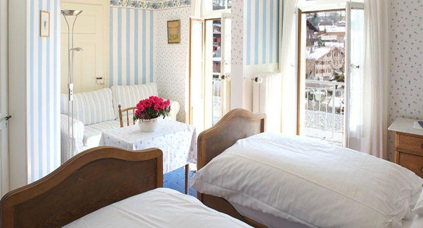 Hotel Falken, Wengen, Bernese Oberland, Switzerland - south facing superior bedroom.jpg
