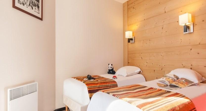 Le Tikal apartments - bedroom