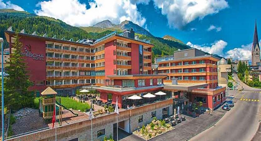 Hotel Grischa, Davos, Graubünden, Switzerland - view of the hotel exterior.jpg