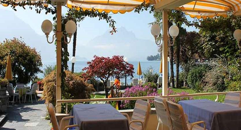 Hotel Beau Rivage, Weggis, Lake Lucerne, Switzerland - Al fresco dining on the terrace.jpg