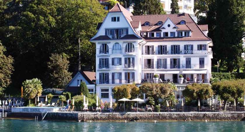 Hotel Central am See, Weggis, Lake Lucerne, Switzerland - hotel exterior from the lake.jpg