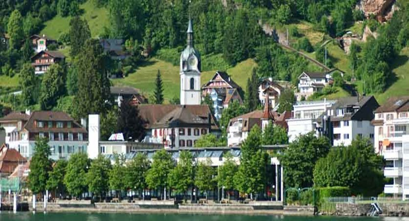 Hotel Rigi, Vitznau, Lake Lucerne, Switzerland - hotel exterior in summer.jpg
