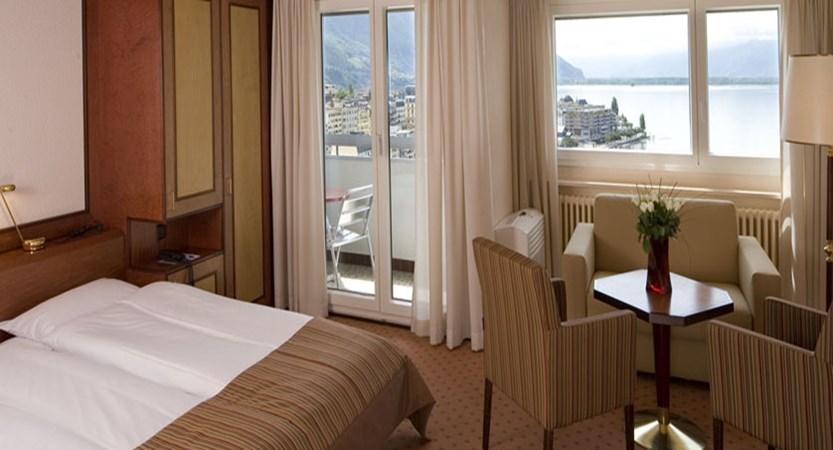Hotel Eurotel Riviera, Montreux, Switzerland - Typical lake view room.jpg