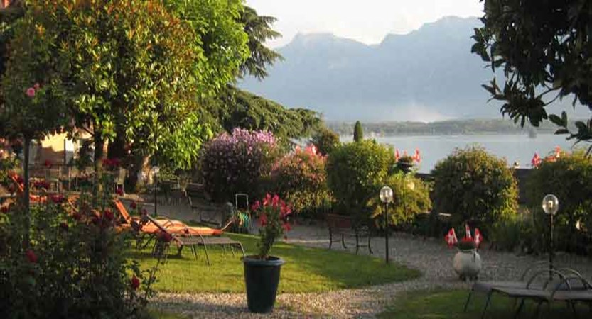 Hotel Masson, Montreux, Switzerland - Garden with lake view.jpg