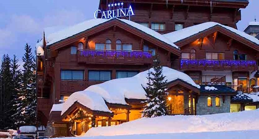 Hotel Carlina - Night exterior