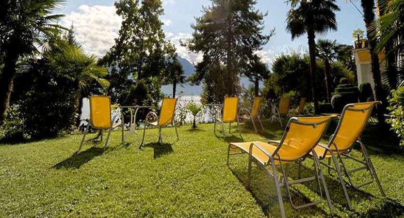 Hotel Rene Capt, Montreux, Switzerland - garden.jpg