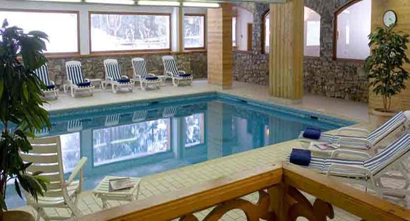 Hotel Ducs de Savoie indoor pool