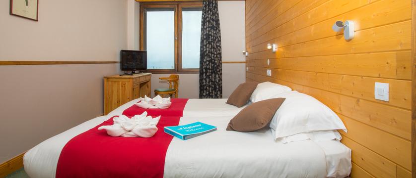 Chalet Hotel Les Anemones - Bedroom